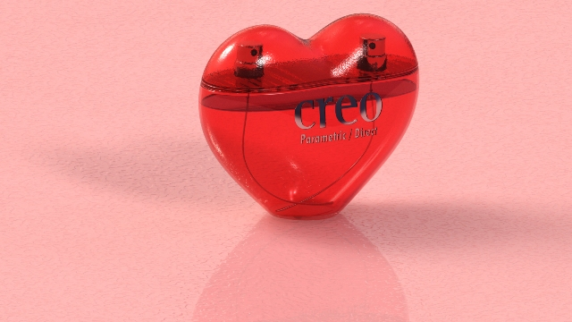 creo parametric heart